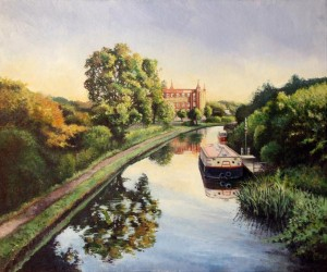 Leeds and Liverpool canal at Botany Bay