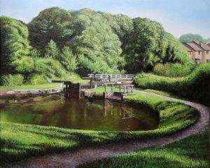 Jons Lock Leeds Liverpool Canal