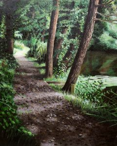 The Path by the anglers lodge